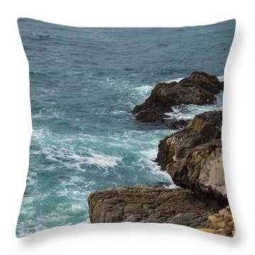 Ocean Below Throw Pillow