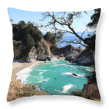 Ocean Bliss Throw Pillow