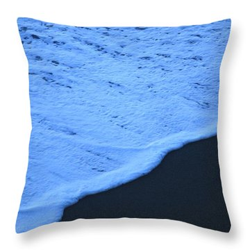 Ocean Blues Throw Pillow