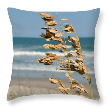 Ocean Breeze Throw Pillow