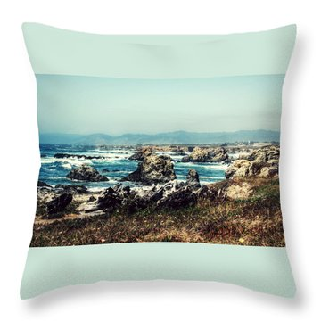 Ocean Breeze Throw Pillow by Melanie Lankford Photography