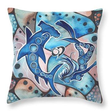 Scuba Diving Throw Pillows