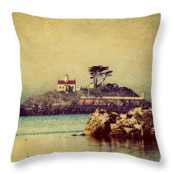 Ocean Dreams Throw Pillow by Melanie Lankford Photography