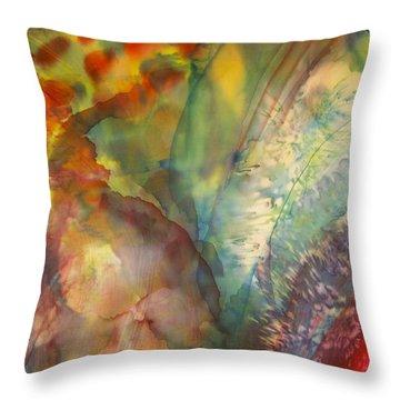 Ocean Eight Throw Pillow by Beverly Johnson