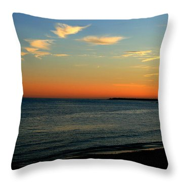 Ocean Hues No. 2 Throw Pillow