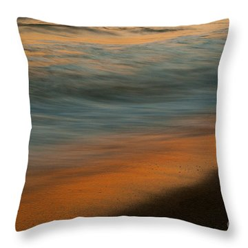 Wave Impressions  Throw Pillow