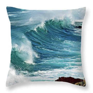 Ocean Majesty Throw Pillow by Patricia Griffin Brett