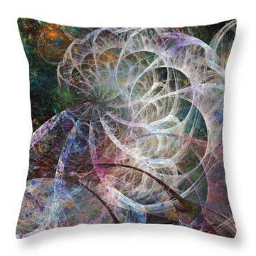 Ocean Morning One Of Two Throw Pillow
