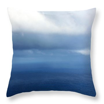 Ocean Of Existence Throw Pillow by Karon Melillo DeVega