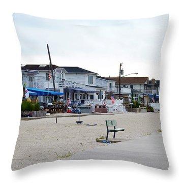 Ocean Promenade Sugar Bowl To Reid Summer 2012 Throw Pillow