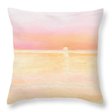 Ocean Symphony Throw Pillow