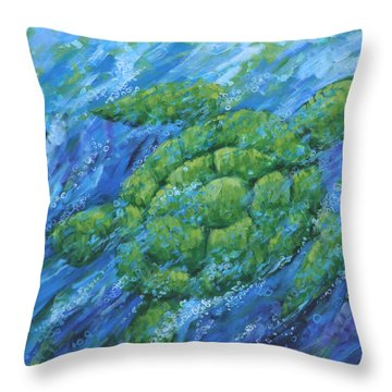 Ocean Voyager Throw Pillow