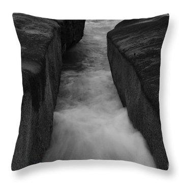 Throw Pillow featuring the photograph Ocean Zen  by John F Tsumas