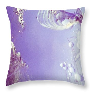Oceanography Throw Pillow
