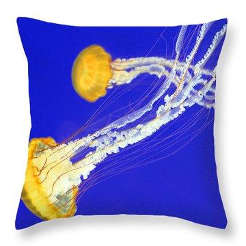 Ocean's Artwork Throw Pillow