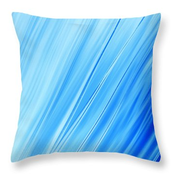 Oceans Throw Pillow