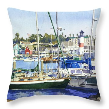 Sail Throw Pillows