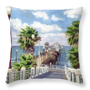 Southern California Throw Pillows