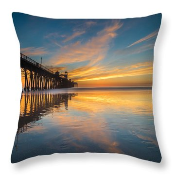 Oceanside Reflections 2 Throw Pillow