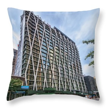 Oct 2014 Front View Throw Pillow