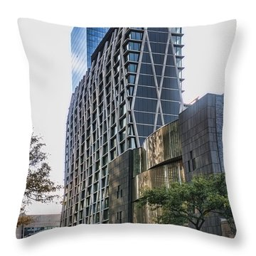 Oct 2014 Ne View Throw Pillow
