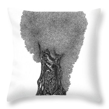 October '12 Throw Pillow