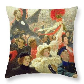 October 17th 1905 Throw Pillow