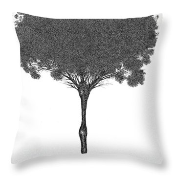 October 2011 Throw Pillow