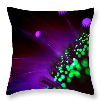 Octopus's Garden Throw Pillow