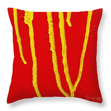 Ocular Memory Throw Pillow by CML Brown