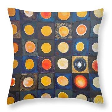 Odd Ball Throw Pillow