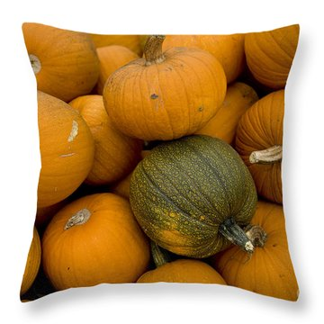 Odd One Out Throw Pillow by David Millenheft