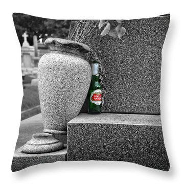 Ode To A Good Man Throw Pillow by Maggy Marsh