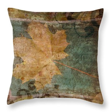 Ode To Autumn Throw Pillow