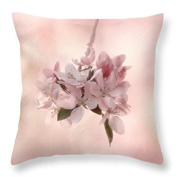 Ode To Spring Throw Pillow by Kim Hojnacki