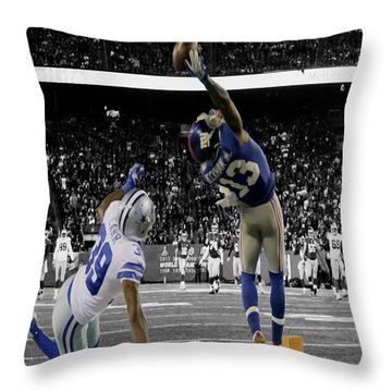 Odell Beckham Greatest Catch Ever Throw Pillow