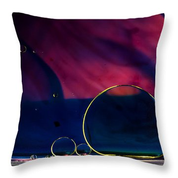 Odyssey Throw Pillow