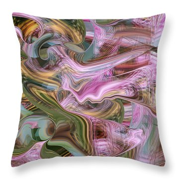 of Angels and Apparitions Throw Pillow