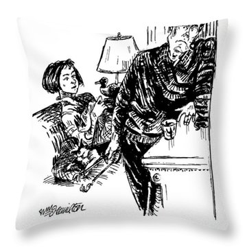 Of Course You're Going To Be Depressed If Throw Pillow