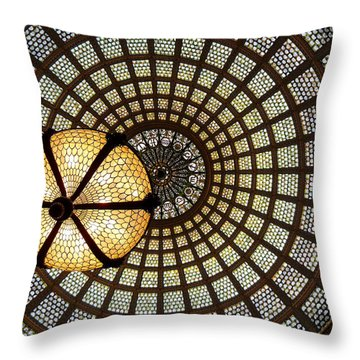 Of Lights And Lamps Throw Pillow