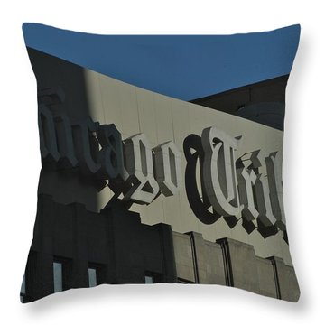 Of Record Throw Pillow by Joseph Yarbrough