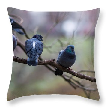 Of The Personal Opinion - Featured 3 Throw Pillow by Alexander Senin