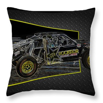Off-road Energy Throw Pillow