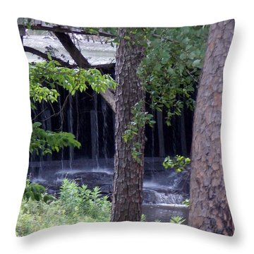 Throw Pillow featuring the photograph Off The Beaten Path by John Glass