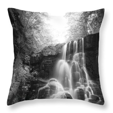 Off The Beaten Path Throw Pillow