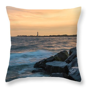 Off The Cape Throw Pillow