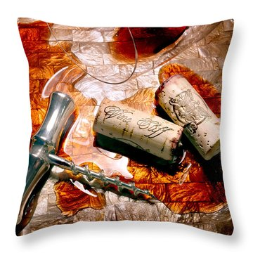 Off The Vine Throw Pillow