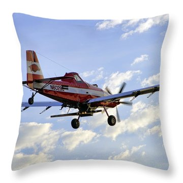 Off To Work Throw Pillow by Jason Politte