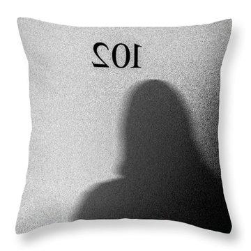 Office 102 Throw Pillow by Bob Orsillo