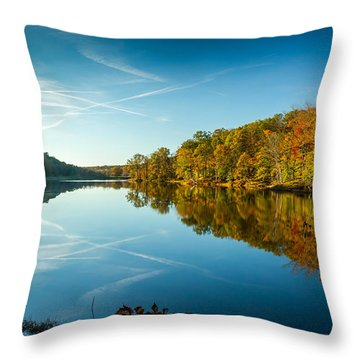 Ogle Lake Throw Pillow